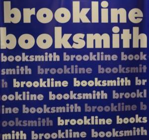 Brookline Booksmith banner.