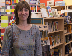 Dina Mardell, co-owner of Porter Square Books.
