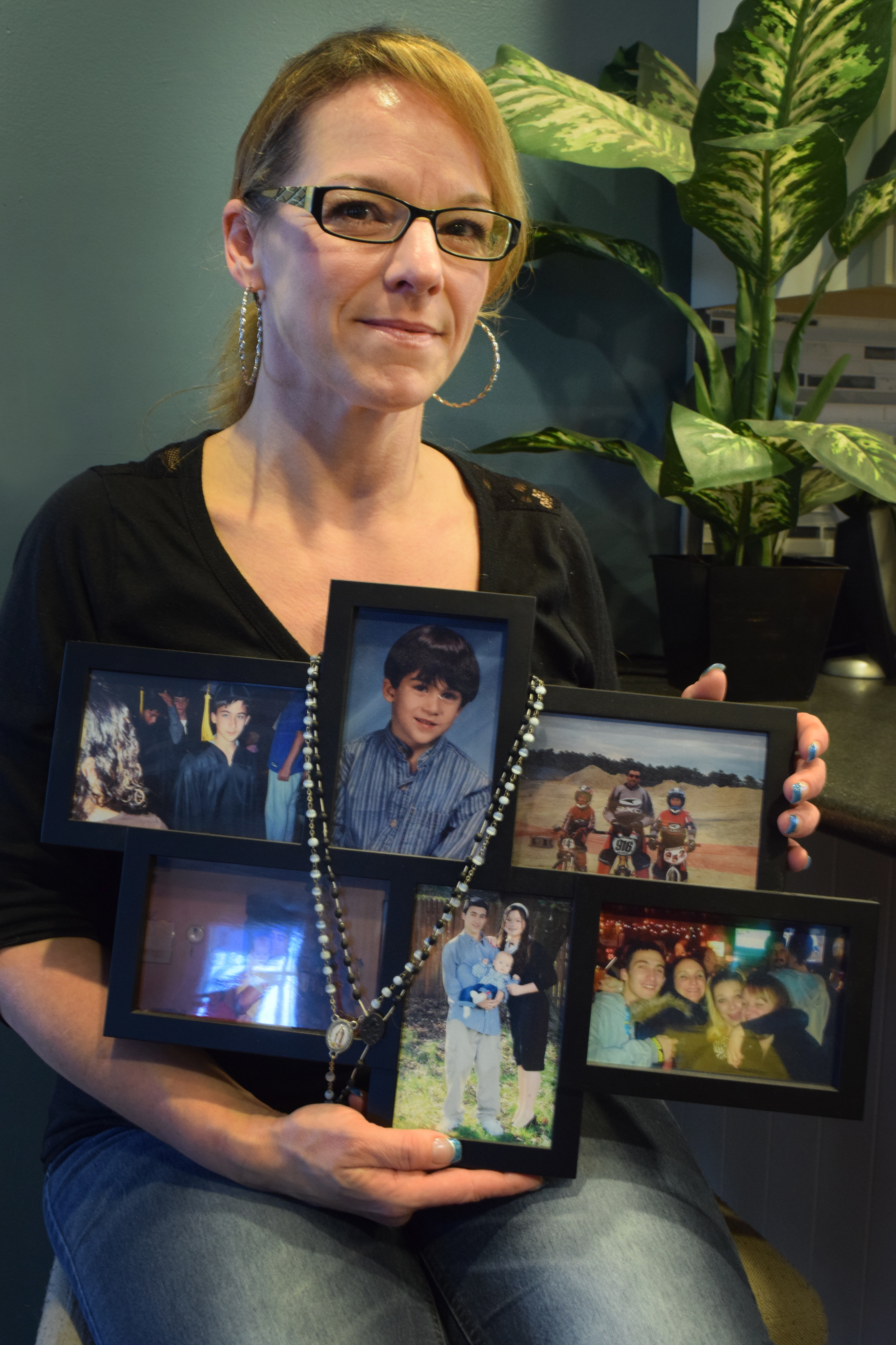 Carrie took the grief from her son's death and turned it into an organization that raises money for families who are also struggling with addiction.