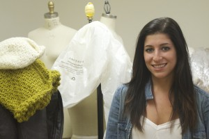 Fisher College fashion merchandising student, Rachel Linsky.