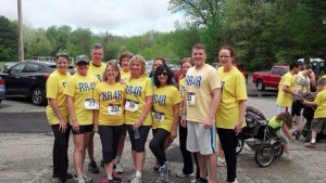 Group of participants before the 2014 Ryan's Run 4 Recovery.