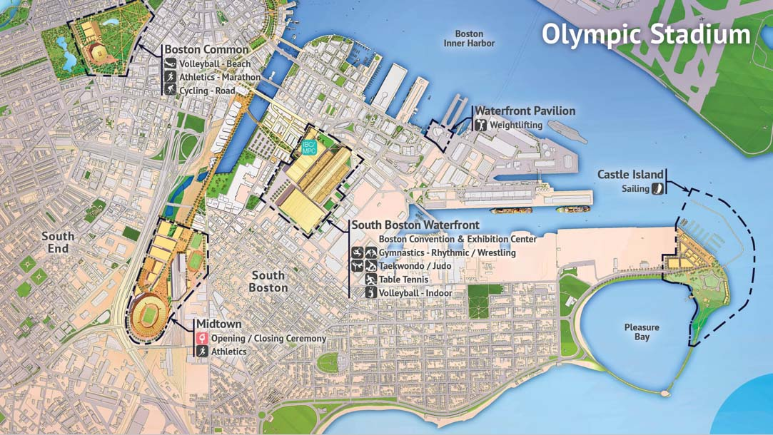 Proposed plans for the Olympic Stadium. www.bostonmagazine.com