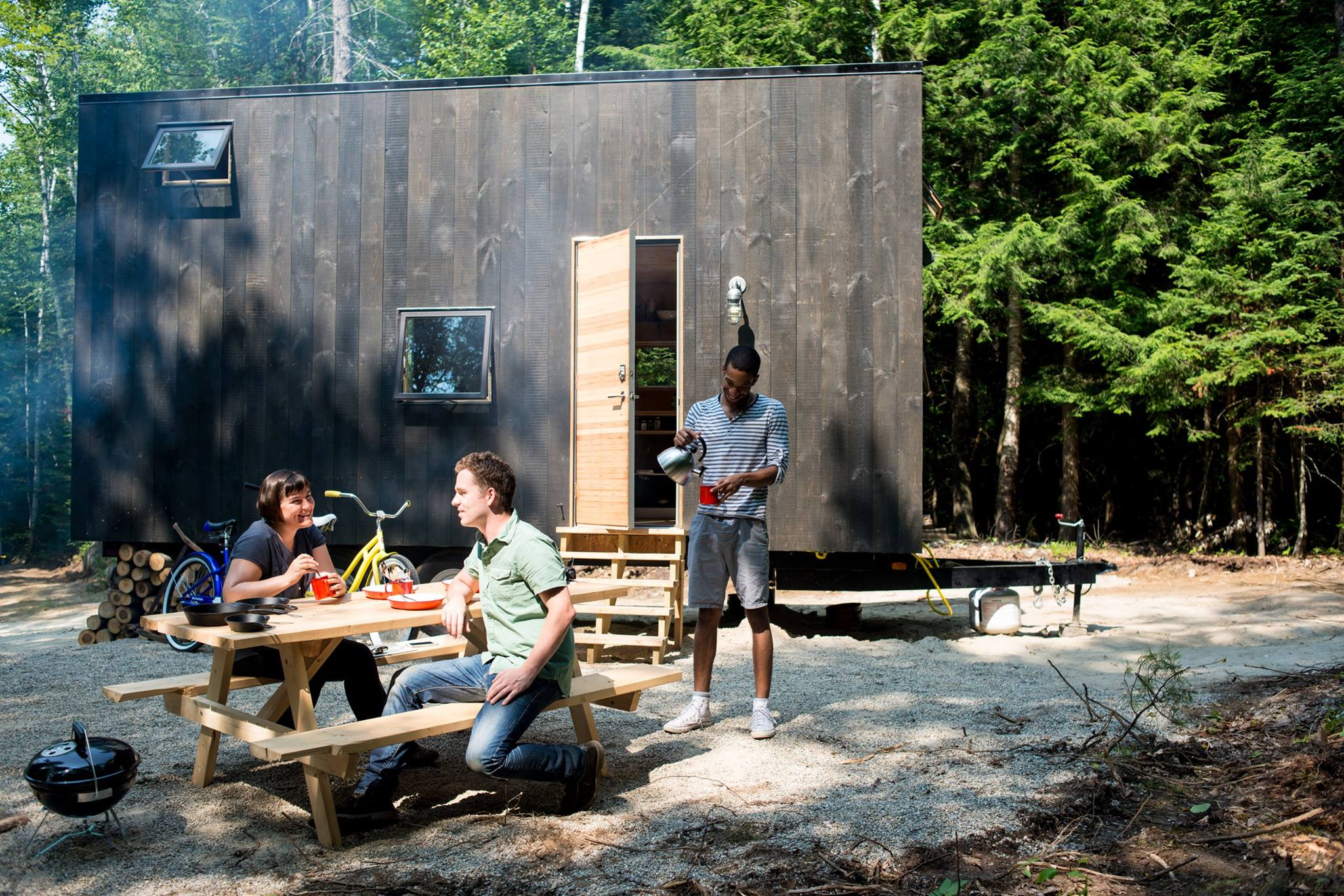 Millennial Housing Lab's first Boston Getaway house in southern New Hampshire. Photo by Millennial Housing Lab.