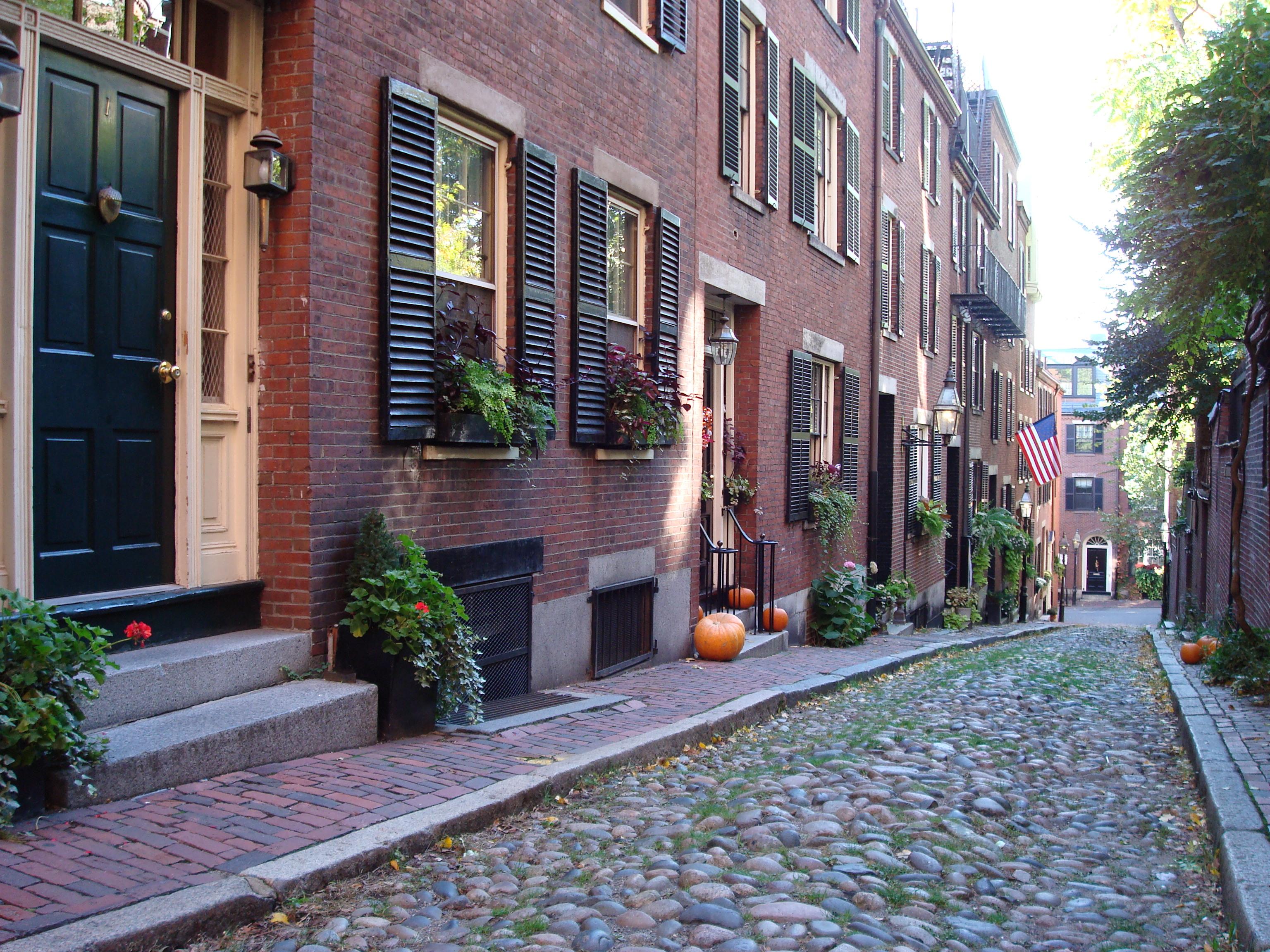 Beacon Hill in Boston. Photo by Darron Schall.
