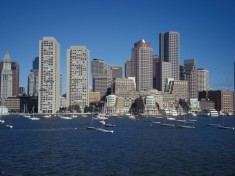 Boston Harbour Skyline. Photo by Wikimedia Commons.