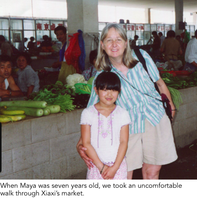 source: from Melissa Ludtke's website: Touching Home in China, http://touchinghomeinchina.com/touching-home.html