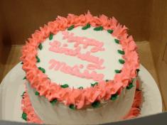 dairy-free birthday cake
