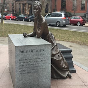 philis-wheatley-statue-at-womens-memorial