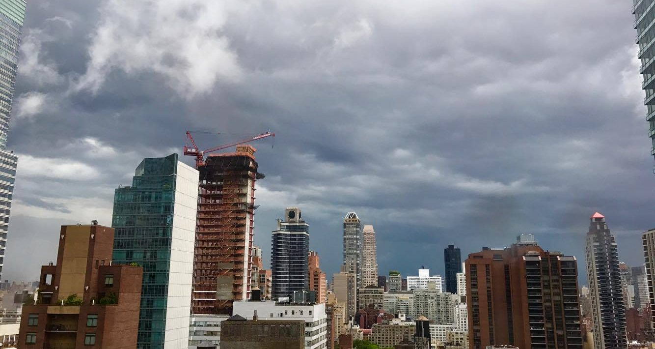 Storms over NYC